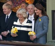 Herzogin von Cornwall, Königin Lizenzfreie Stockfotografie