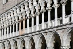 Herzoglicher Palast nannte auch Palazzo herzoglich in italienischsprachigem in VE lizenzfreie stockfotografie