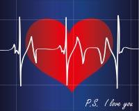 Herzschlag Lizenzfreie Stockbilder