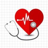 Herzsorgfaltikone Lizenzfreie Stockfotografie