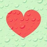 Herzsymbol der Liebe stock abbildung