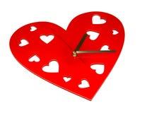 Herzuhr Stockbild