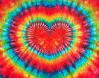Herzzeichenbindungsfärbungs-Musterhintergrund Lizenzfreie Stockbilder