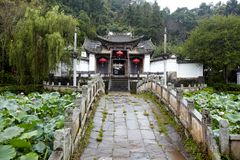 Heshun ancient town Royalty Free Stock Photography