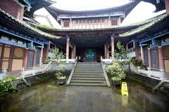 Heshun ancient town Royalty Free Stock Photo