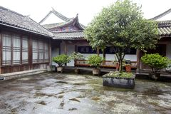 Heshun ancient town Stock Photo