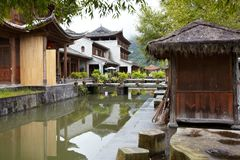 Heshun ancient town Royalty Free Stock Photo