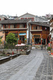 Heshun town  in tengchong,Yunnan, China Royalty Free Stock Images