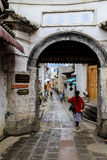 Heshun town  in tengchong,Yunnan, China Stock Image