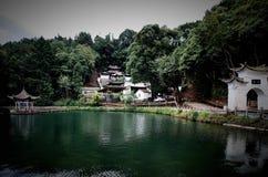 Heshun Yuan Dragon Pavilion Fotografía de archivo