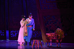 "Hesitant-Dance drama ""The Dream of Maritime Silk Road"" Stock Photos"