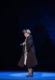 "Hesitate to wander-Peking Opera ""Taking Tiger Montain By Strategy"" Royalty Free Stock Image"