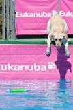 Hesitation before jumping... Stock Photo
