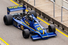 Hesketh 308E F1 bil Royaltyfri Bild