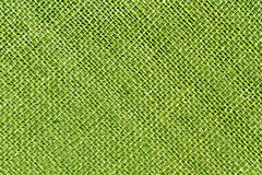 Heskiej zieleni workowego płótna stonowana tekstura Zdjęcia Royalty Free