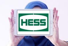 Hess Korporation logo royaltyfria bilder