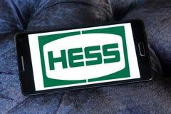 Hess Korporation logo arkivfoto
