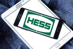 Hess Korporation logo arkivbild