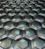 Сhessboard. 3d image Background of metal squares chessboard Stock Photography