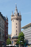 Hesse,Frankfurt,View of Eschenheimer Turm with bar and r Royalty Free Stock Photography