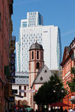 Hesse,Frankfurt,View of Liebfrauenkirche church in front Royalty Free Stock Photos