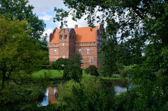 Hesselagergard Manor in Denmark Stock Photos