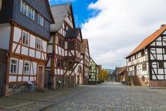 Hessenpark jest na otwartym powietrzu muzeum w Hesse, Niemcy Obrazy Stock
