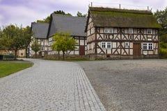 Hessenpark jest na otwartym powietrzu muzeum w Hesse, Niemcy zdjęcie stock
