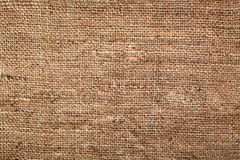 Hessian background Stock Photography
