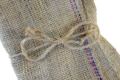 Hessian Bag royalty free stock images