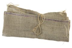 Hessian Bag stock photo