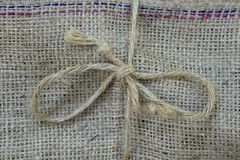 Hessian Bag Stock Images