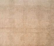 Hessian, burlap fabric rustic background. Sacking. Royalty Free Stock Images