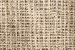 Hessian. Close up of natural hessian stock photography