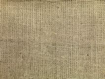 Hessian Cloth. A close up shot of brown hessian cloth stock image