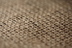 Hessian cloth Royalty Free Stock Images