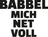 Hessian german saying. Hessian german saying quote vector Royalty Free Stock Photos