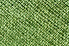 Hessian green toned  sack cloth texture. Royalty Free Stock Photography