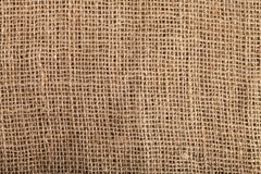 Hessian. Burlap bag cloth fabric background jute stock photography