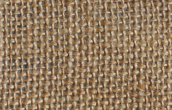 Hessian macro texture Stock Photo