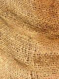 Hessian sack. Close-up of hessian sacking Royalty Free Stock Image