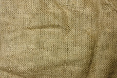 Hessian sack Stock Image