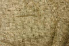 Hessian sack. Close up texture of hessian sack material stock image