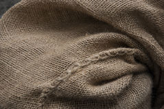 Hessian Sack Background Texture Royalty Free Stock Photography