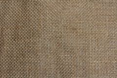 Hessian sack cloth texture background Stock Images