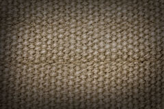 Hessian sackcloth Stock Image