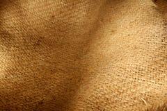 Hessian sacking. Closeup of natural burlap hessian sacking royalty free stock image