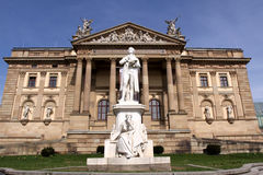 Hessian State Theater in Wiesbaden Royalty Free Stock Photos