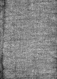 Hessian Texture. A black and white coarse hessian sack fabric texture stock image
