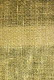 Hessian texturerar Arkivbild